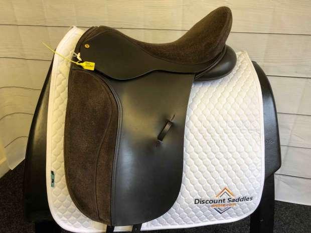 Black Country Kur Dressage Saddle 17.5 M Brown ED2067 Discount Saddles Online