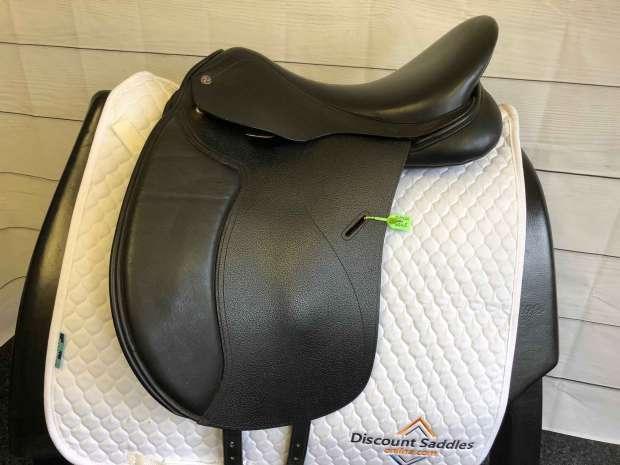 Cavalletti Dressage 17 W Black Saddle SH6045 Discount Saddles Online