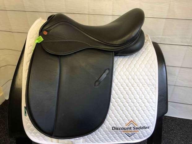 Saddle company Verona VSD 17.5 W Black Saddle 2091 Discount Saddles online